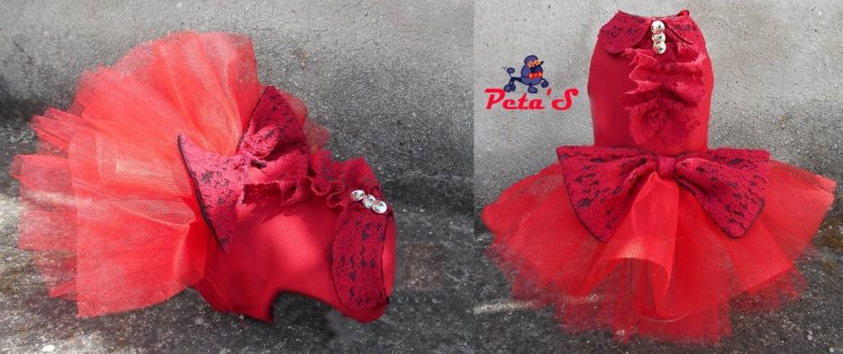 Rochie Galla red