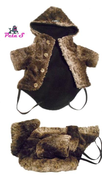 palton caini capuccino
